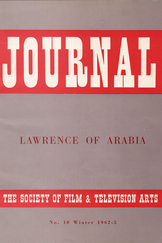 BAFTA Journal 1962-3: Lawrence of Arabia Tribute