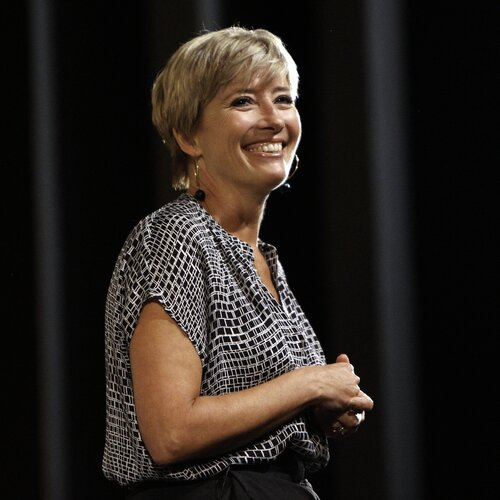 The BAFTA and BFI Screenwriters Lecture Series 2014 in association with The JJ Charitable Trust. British writer and actress Emma Thompson gives the second lecture in the series at the BFI Southbank on 20 September 2014. Chaired by Jeremy Brock. Other write