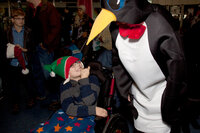 Event: BAFTA screening of Penguins of Madagascar for the families of Acorns Children's HospiceDate: 7 December 2014Venue: The Giant Screen, Birmingham