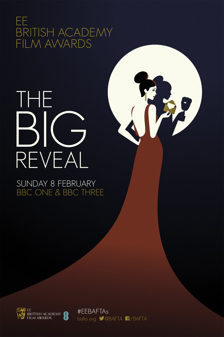 The Big Reveal EE British Academy Film Awards Campaign In