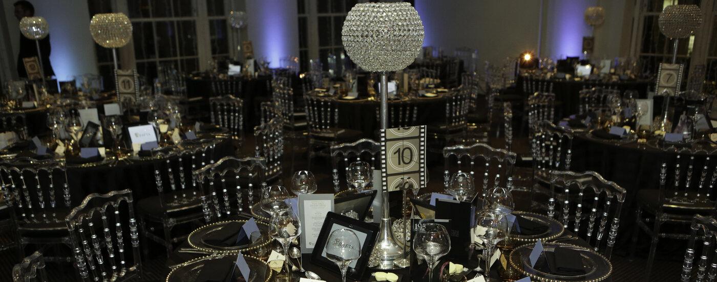 Event: BAFTA Film Gala DinnerDate: Thurs 5 February 2015Venue: BAFTA, 195 Piccadilly-Area: BRANDING & SET-UP