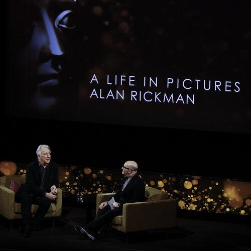 Event: BAFTA A Life in Pictures: Alan Rickman, sponsored by Deutsche Asset & Wealth ManagementDate: Weds 15 April 2015Venue: BAFTA, 195 PiccadillyHost: Boyd Hilton