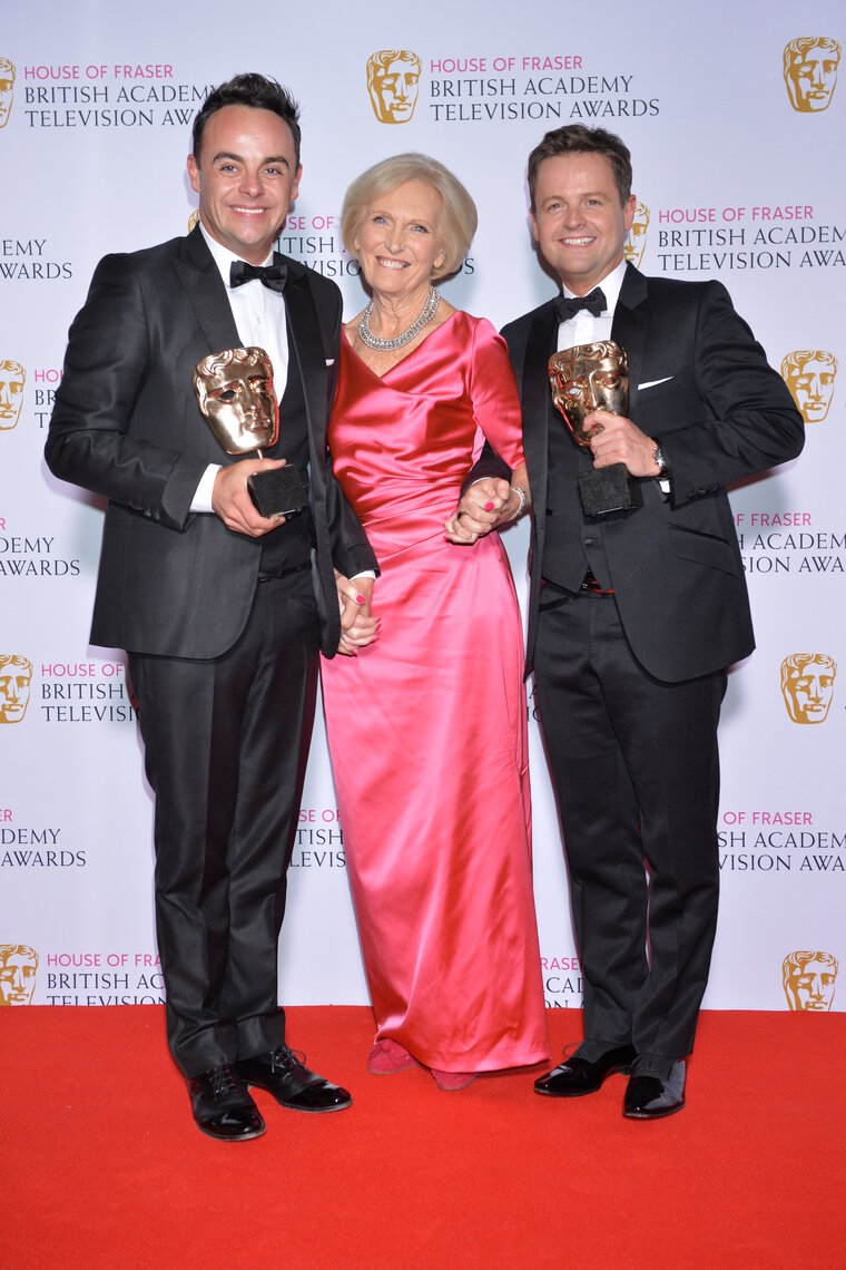 Winners at the House of Fraser British Academy Television