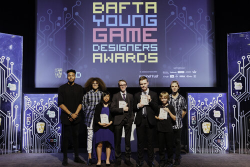 Event: BAFTA Young Game Designers AwardsDate: 25 July 2015Venue: BAFTA, 195 PiccadillyHosts: Ben Shires and Jane Douglas-Area: WINNERS GROUP SHOTS