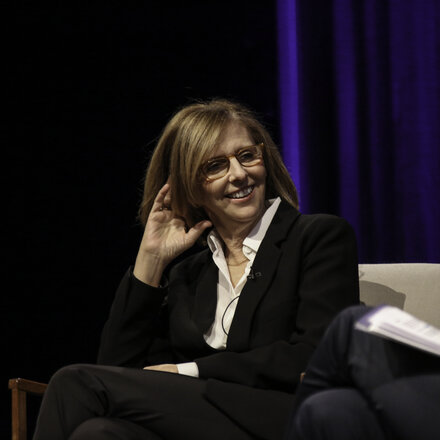 Nancy Meyers at BAFTA/BFI Screenwriters' Lecture at 195 Piccadilly