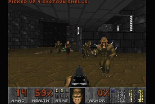 Doom game play John Carmack