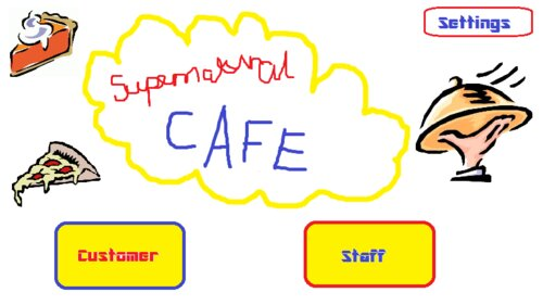 supernatural cafe