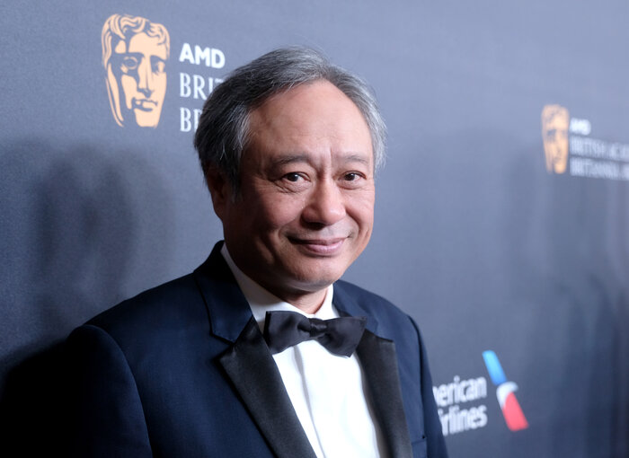 Ang Lee on the red carpet