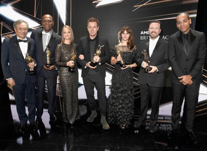Honorees of the 2016 Britannia Awards