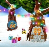 Cbeebies Advent Calendar and New Year Countdown