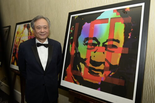 Ang Lee with 2016 Britannia Lincoln Townley Portrait