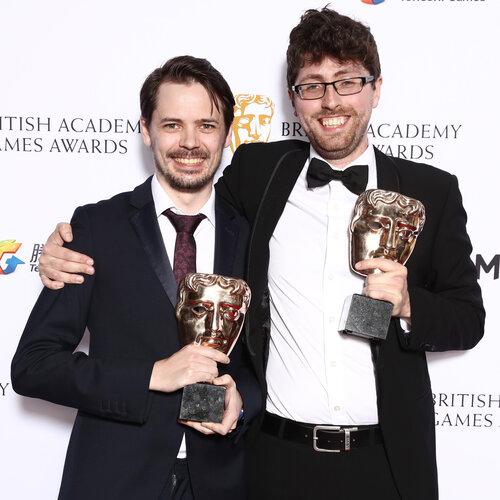 British Academy Games Awards, Press Room, London, UK - 06 Apr 2017