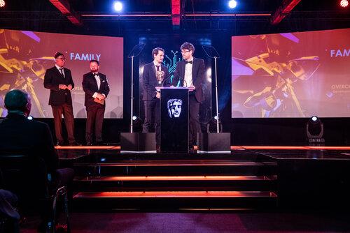 Event: British Academy Games AwardsVenue: Tobacco Dock, LondonDate: 6 April 2017Host: Danny Wallace -Area: Ceremony