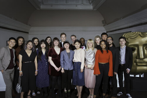 Event: BAFTA Scholars Welcome ReceptionDate: 19 September 2017 Venue: BAFTA, 195 Piccadilly, London-Area: Group Shot