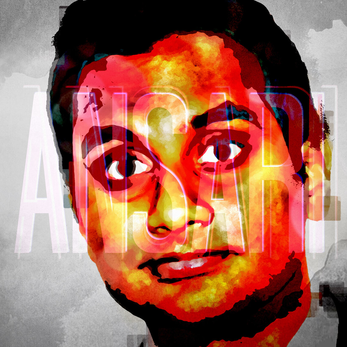 Aziz Ansari - Lincoln Townley Portrait