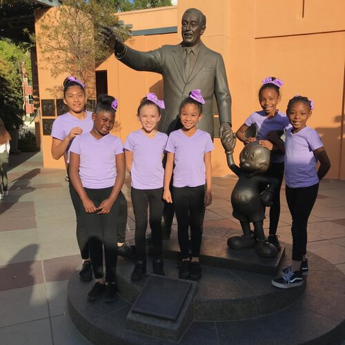 Helen Keller Park Kids at Disney Screening
