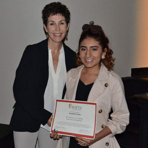 HIGH FLYER SCHOLARSHIP Sharyn Ross and Rosalinda Larios 2017 High Flyer