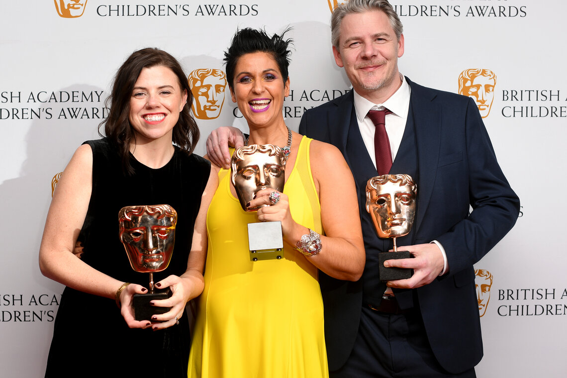 Event: British Academy Children's Awards  Date: Sunday 26 November 2017Venue: The Roundhouse, Camden, London Host: Doc Brown-Area: Press Room
