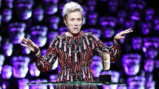 Event: EE British Academy Film Awards Date: Sunday 18 February 2018 Venue: Royal Albert Hall, London Host: Joanna Lumley - Area: Ceremony