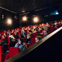 Event: TV Preview: Kiss Me First + Q&A with Bryan Elsley, Melanie Stokes, Paula Bird & Richard Scott Venue: Cineworld, Renfrew Street, Glasgow Date: Wednesday 28 March 2018Host: Paul English-