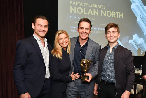Event: Nolan North Special Award PresentationDate: Monday 11 June 2018Venue: The London, West Hollywood, Los Angeles-