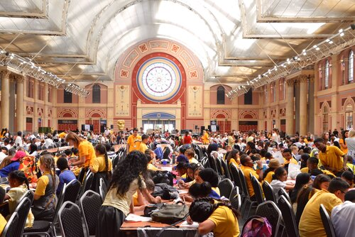 Event: BAFTA Kids: Big School DayDate: Tuesday 26 June 2018Venue: Alexandra Palace, LondonHosts: Naomi Wilkinson, Ed Petrie & Lindsey Russell-
