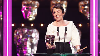 Event: EE British Academy Film Awards 2019Date: Sunday 10 February 2019Venue: Royal Albert Hall, Kensington Gore, LondonHost: Joanna Lumley-Area: CeremonyCategory: LEADING ACTRESS