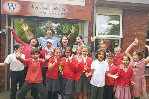 Event: BAFTA Kids & Place 2Be at Windsor Community Primary School, LiverpoolDate: Wednesday 26 June 2019Venue: Windsor Community Primary School, LiverpoolHosts: Ed Petrie and Lindsey Russell with guest speaker Helen Blakeman (screenwriter)-