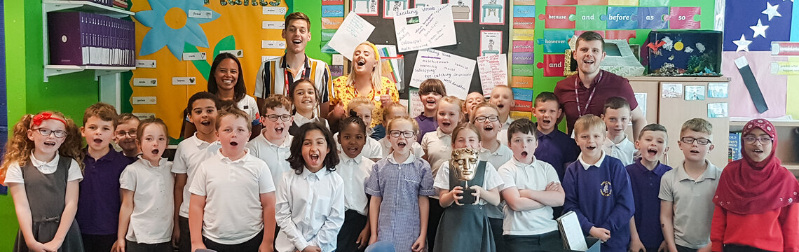 Event: BAFTA Kids & Place 2Be at Haveley Hey Community Primary School, ManchesterDate: Thursday 27 June 2019Venue: Haveley Hey Community Primary School, ManchesterHosts: Sam Homewood and Katie Thistleton with guest speaker, Leah Boleto (Newsround)-