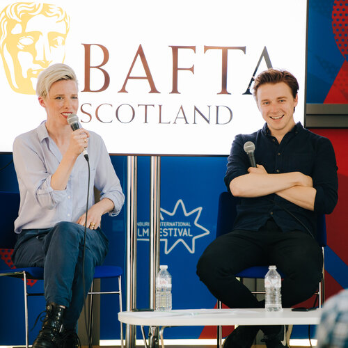 Event: BAFTA Scotland at EIFF: Preparing for Screen Auditions with Shauna Macdonald and Jack Lowden Date: Friday 28 June 2019 Venue: St John's Church, Edinburgh Host: Shauna Macdonald & Jack Lowden-