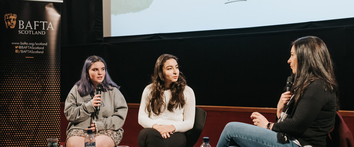 Event: BAFTA Scotland at GYFF: A Day in the Director's Life with Marilyn Edmond Date: Sunday 15 September 2019 Venue: Glasgow Film Theatre, Glasgow Host: GYFF Youth Programmers-