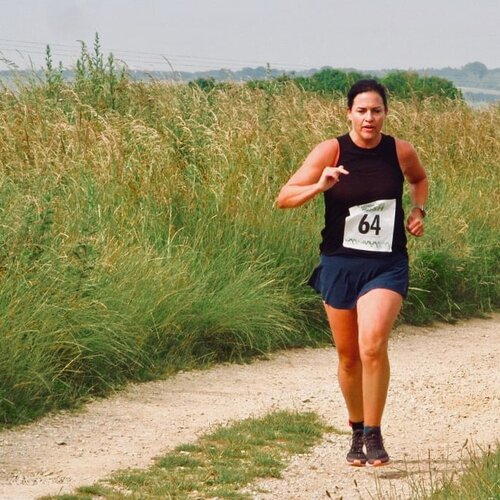 Jo Goodenough trains for the London Marathon 2020